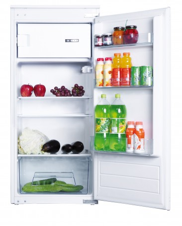 Inbouw koelkast met vriesvak - 122cm
